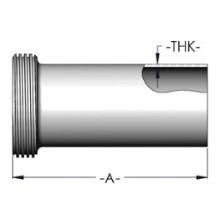 Tygon hose threaded adaptor